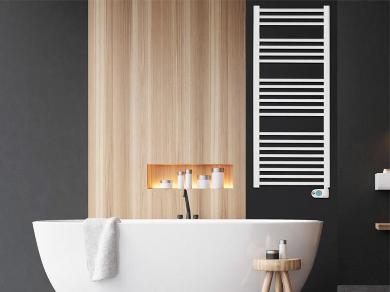 Imagen lifestyle toalleros de baño eléctricos